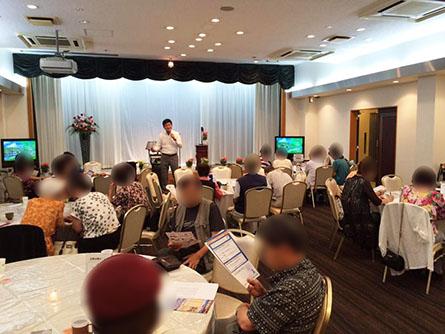2016年8月28日 葬儀会館で相続セミナー(高槻市)